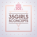 PRODUCE 101 - 35 Girls 5 Concepts 대표이미지