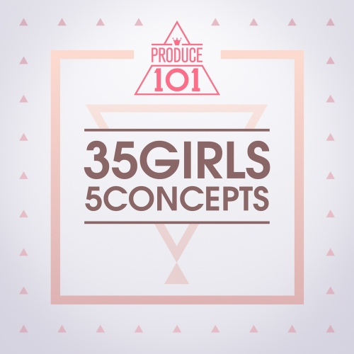 PRODUCE 101 - 35 Girls 5 Concepts 앨범이미지