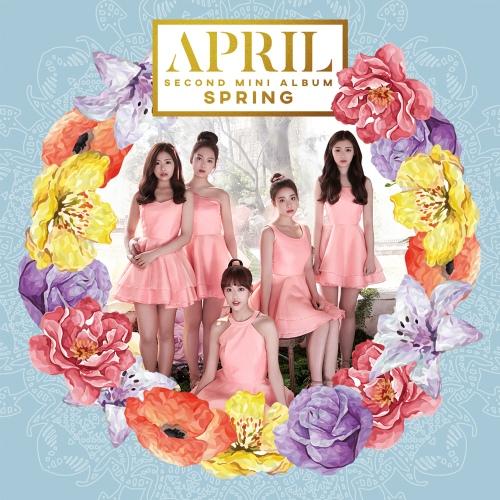 에이프릴(APRIL) 2nd Mini Album 'Spring' 앨범이미지