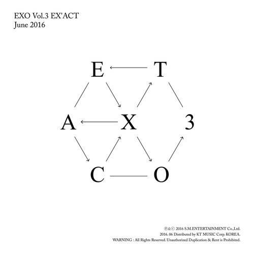 EX'ACT - The 3rd Album 앨범이미지