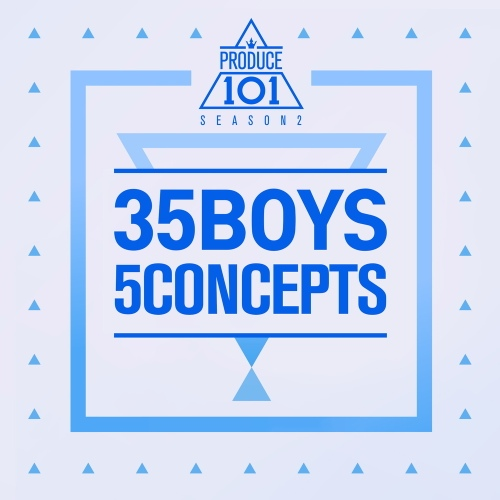 PRODUCE 101 - 35 Boys 5 Concepts 앨범이미지