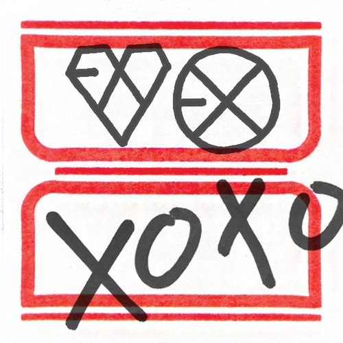 EXO The 1st Album XOXO (Kiss & Hug) 앨범이미지