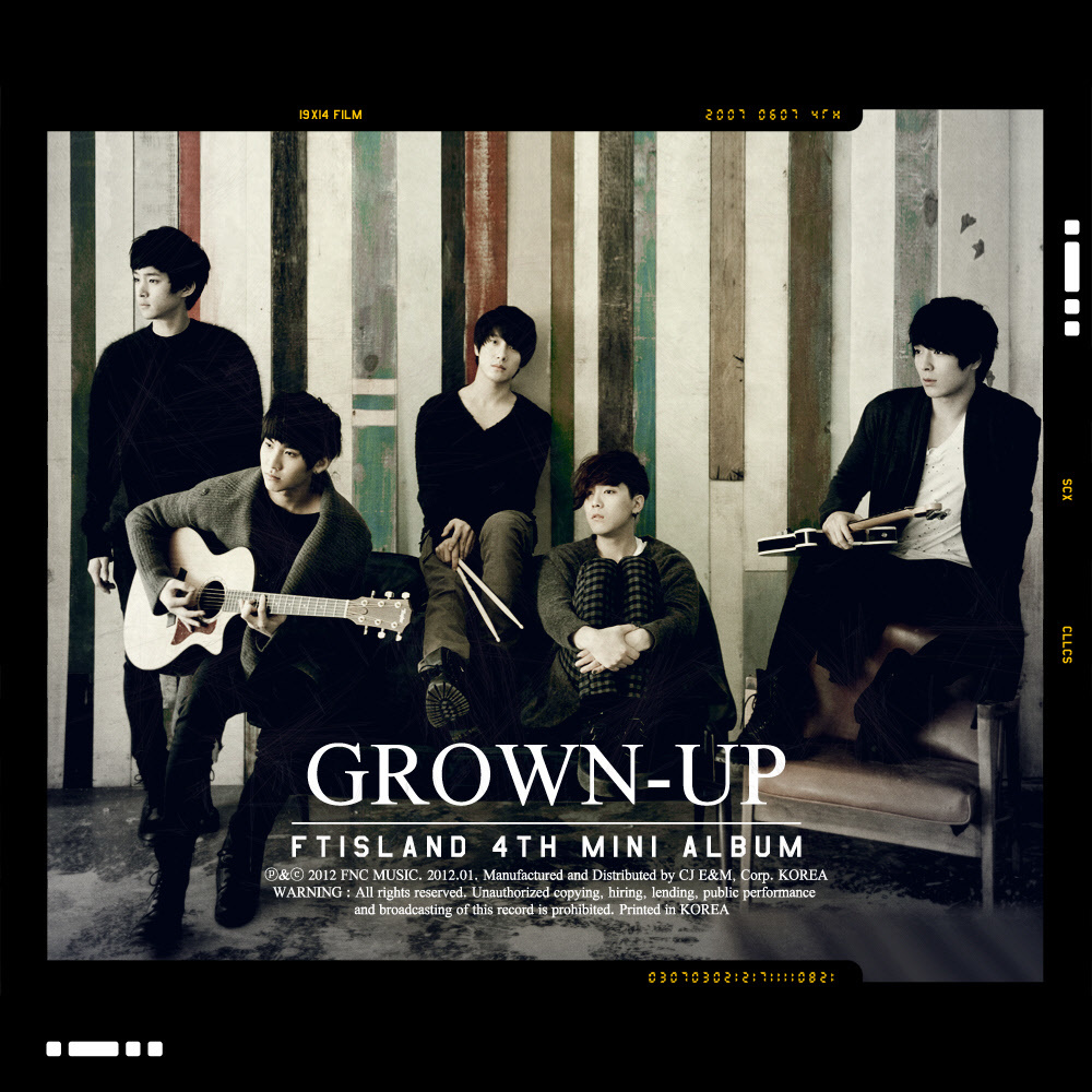 FT Island - GROWN-UP [4th Mini Album]