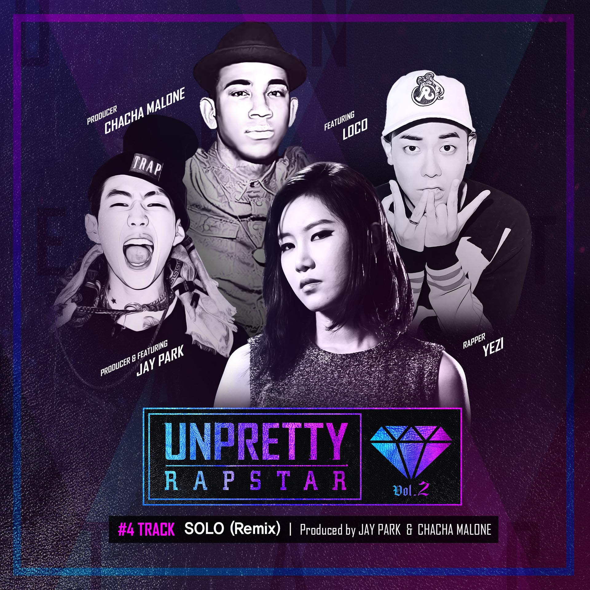Yezi (Fiestar) Feat. Jay Park & Loco – Solo – Unpretty Rapstar 2 Track 4 K2Ost free mp3 download korean song kpop kdrama ost lyric 320 kbps