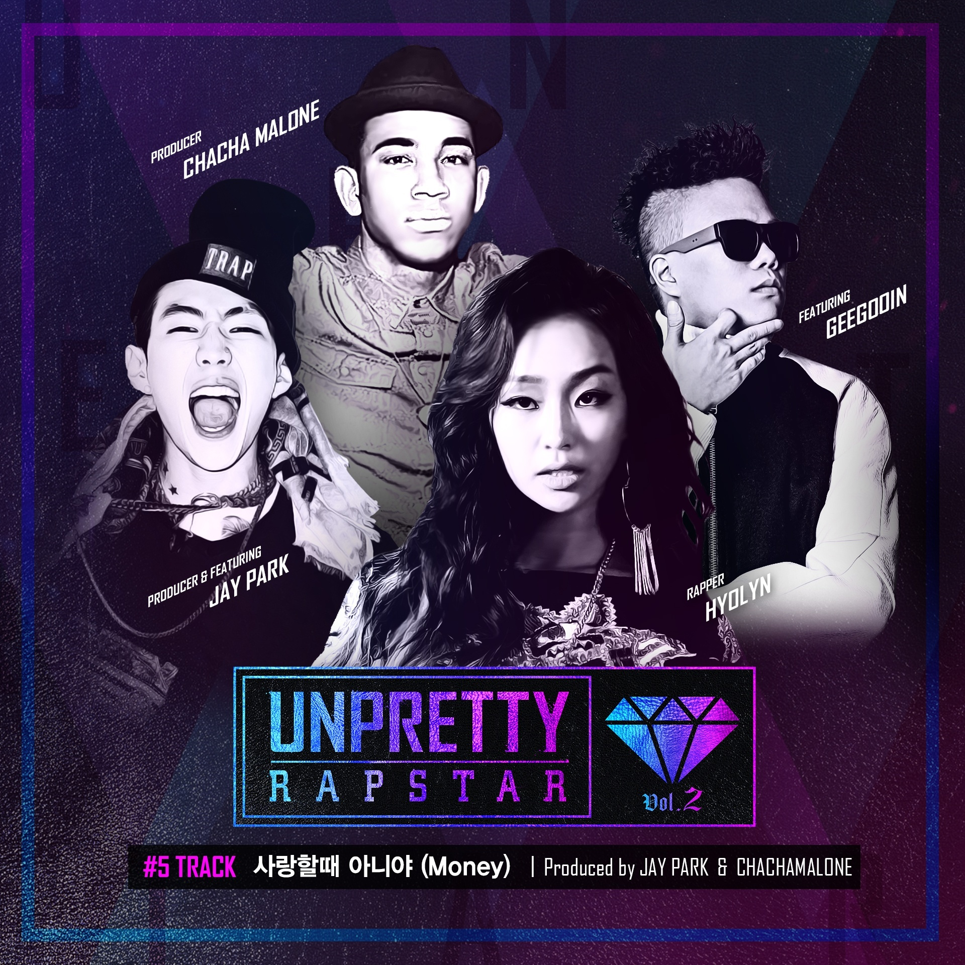 Hyorin (Sistar) – Unpretty Rapstar 2 Track 5 – Money Feat. Jay Park & Geegooin K2Ost free mp3 download korean song kpop kdrama ost lyric 320 kbps